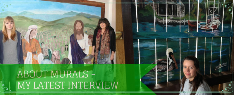 ABOUT MURALS - MY LATEST INTERVIEW