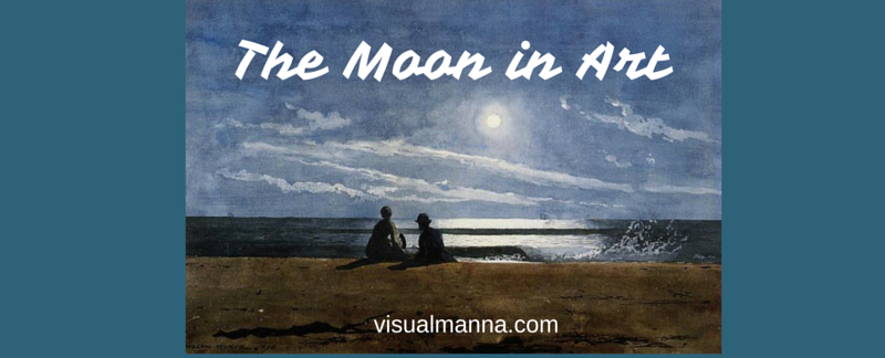 the moon in art
